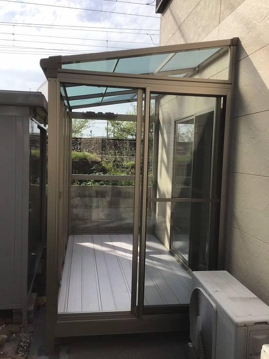 有明トーヨーの突然の雨~洗濯物どうする❓の施工後の写真2
