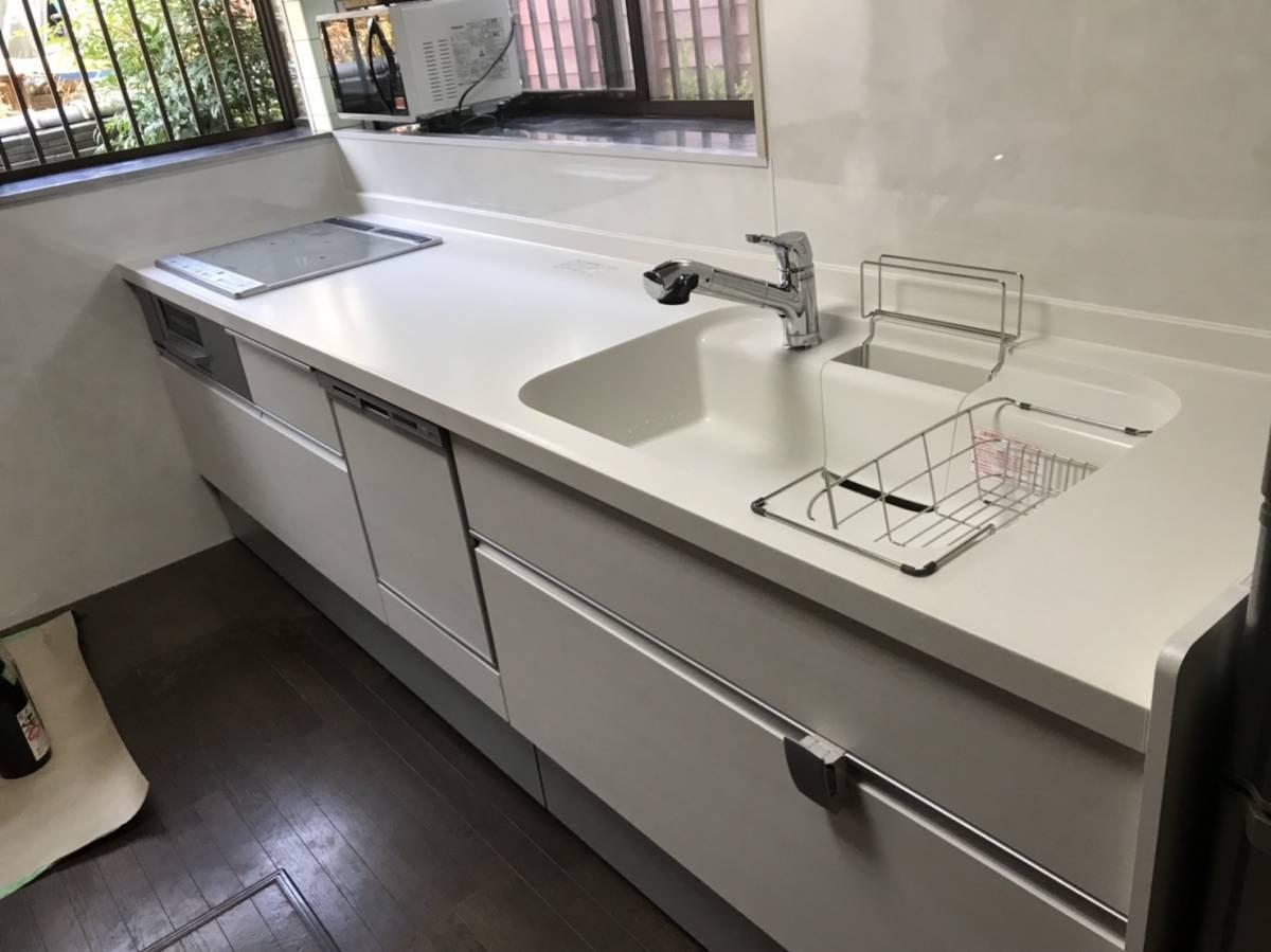 有明トーヨーのキッチン新しくしたいな~の施工前の写真1