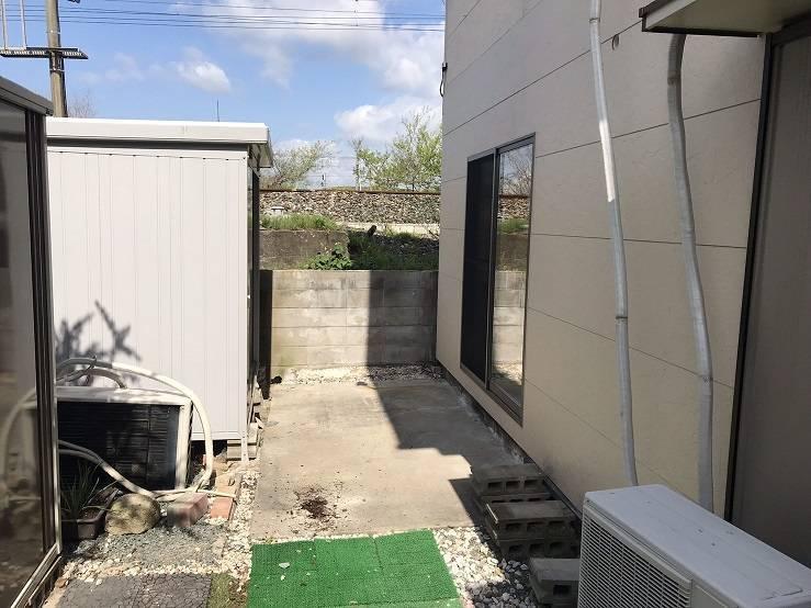 有明トーヨーの突然の雨~洗濯物どうする❓の施工前の写真1