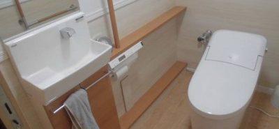 施工事例:トイレ新しくした~い