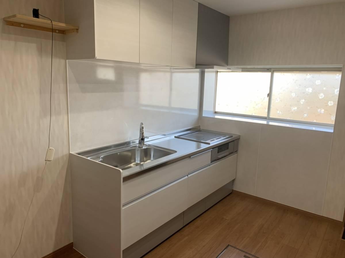 有明トーヨーのキッチンリフォームの施工後の写真1