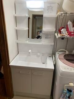 有明トーヨーの洗面台を替えたいな~の施工後の写真1