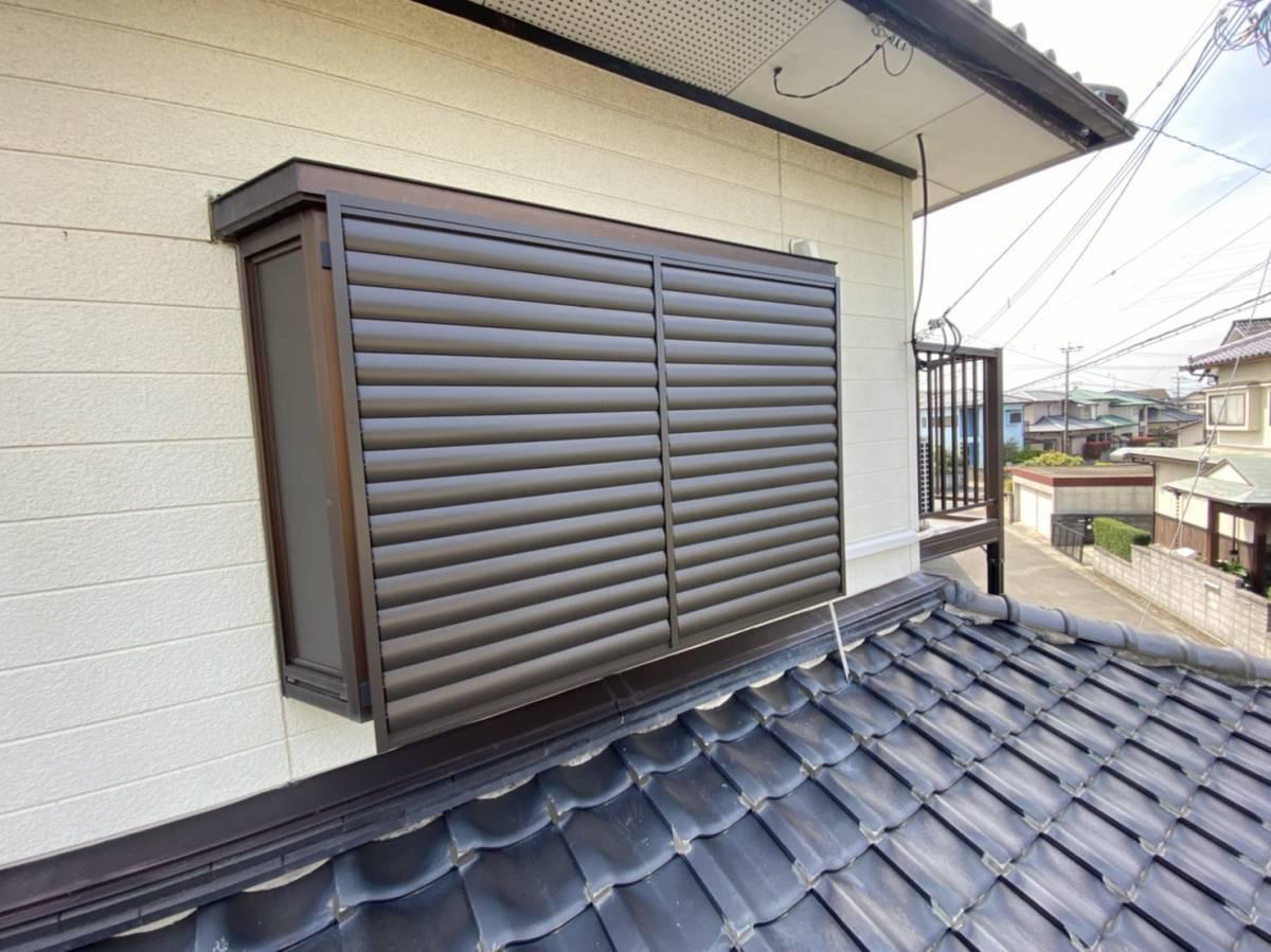 有明トーヨーの出窓の台風対策って~何かあるかな~の施工後の写真2