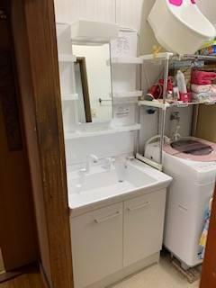 有明トーヨーの洗面台を替えたいな~の施工後の写真2