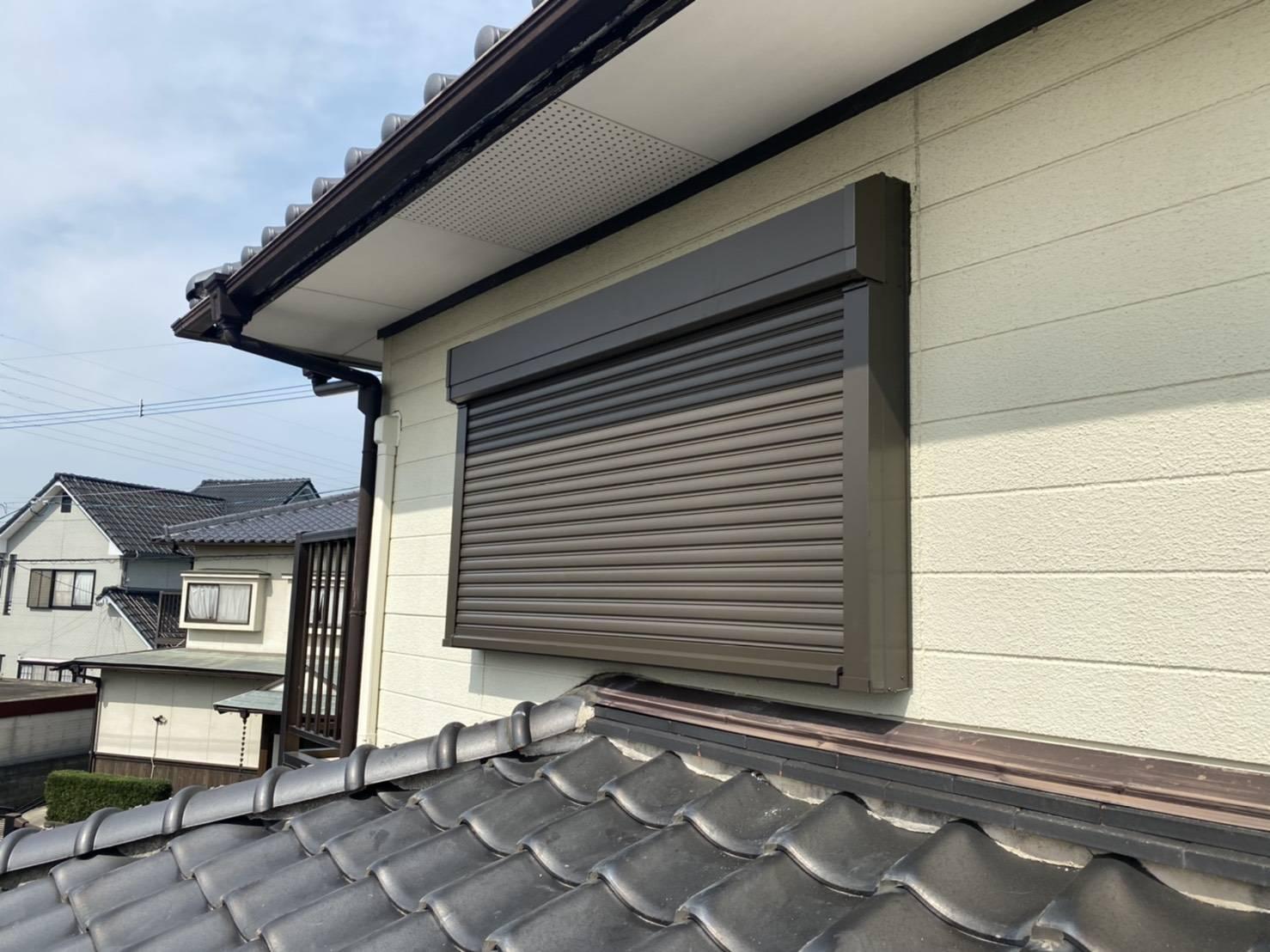 有明トーヨーの二階の窓も台風対策しようかしら・・・のお客様の声2