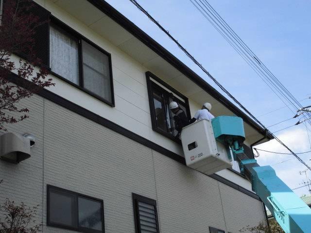 高いところの工事も頑張っていま~す 有明トーヨーの現場ブログ メイン写真