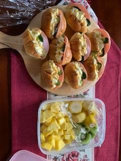 少しお洒落な朝食 有明トーヨーの現場ブログ メイン写真