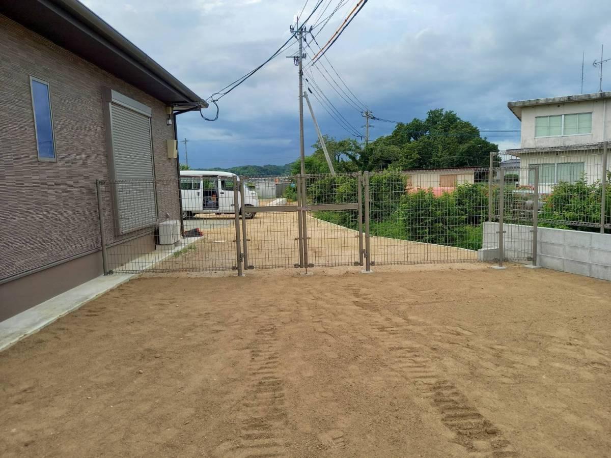 有明トーヨーの背の高いフェンスが欲しいな~の施工後の写真2