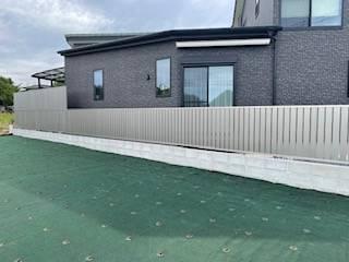 有明トーヨーの外から見えにくい外柵ってないかな~の施工後の写真2