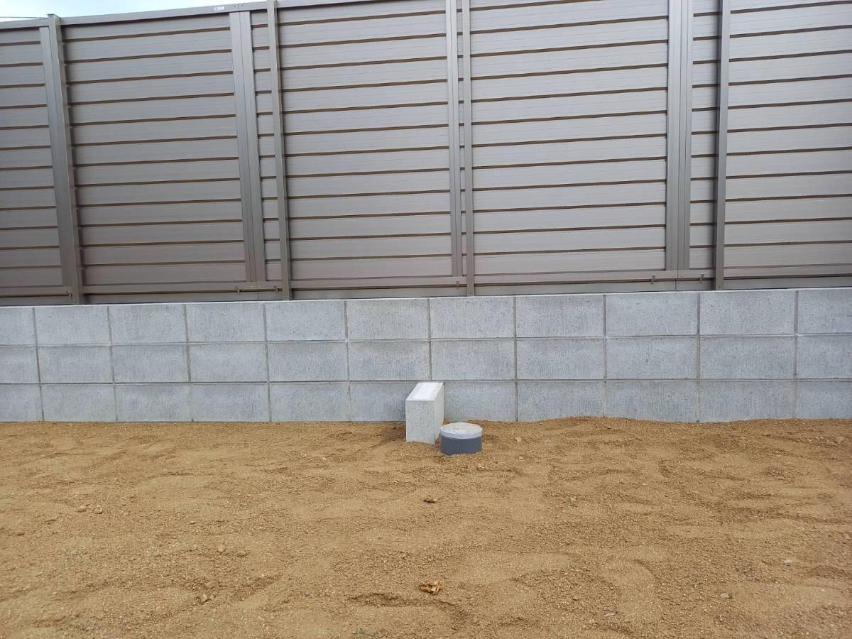 有明トーヨーの背の高いフェンスが欲しいな~の施工前の写真1