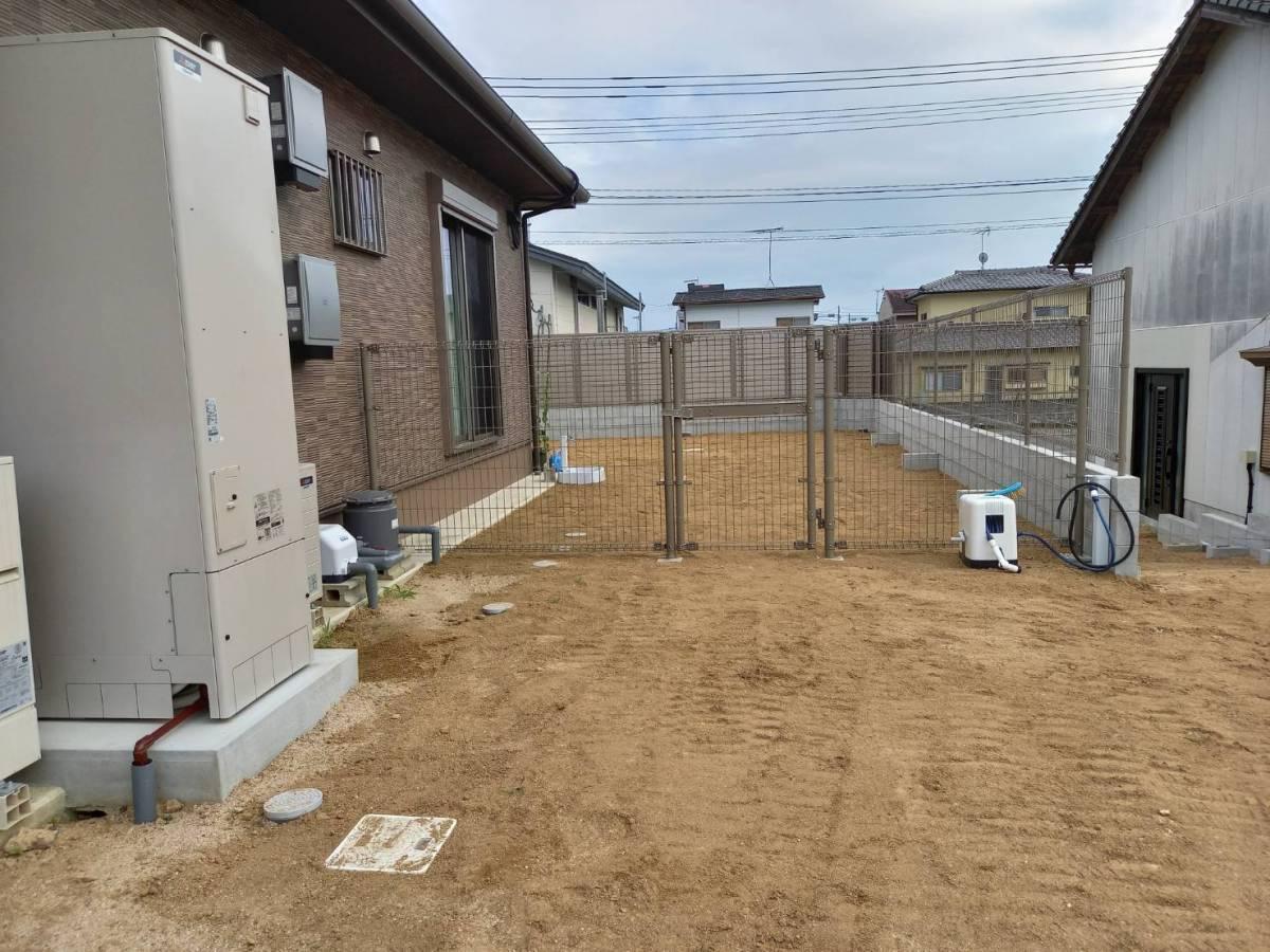 有明トーヨーの背の高いフェンスが欲しいな~の施工前の写真3