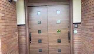 施工事例:台風に強い玄関て~あるかな・・・・